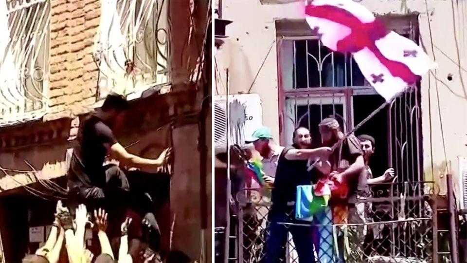 Mutmaßliches Hassverbrechen: 24-Jähriger zu Tode geprügelt: Tausende Spanier protestieren gegen Homophobie