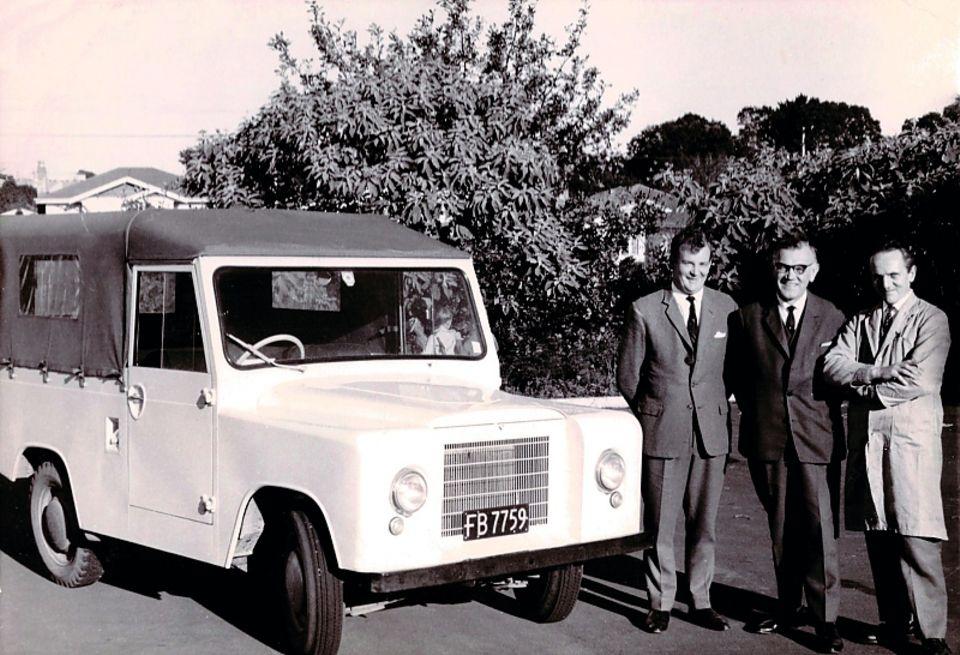Der Skoda Trekka wurde von 1966 bis 1972 in Neuseeland produziert