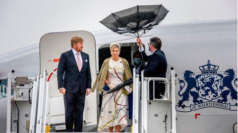 Willem-Alexander und Maxima in Berlin