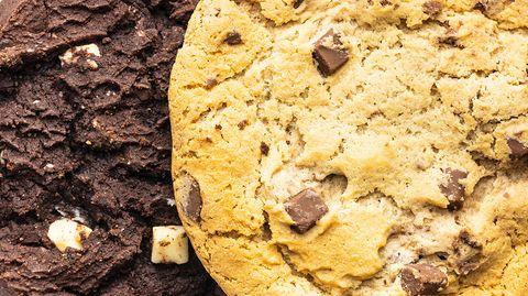 Rezept für einfachen Schokokuchen: Chocolate Chip Cookie Kuchen