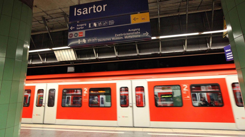 Der Polizeieinsatz ereignete sich am Münchner S-Bahnhof Isartor