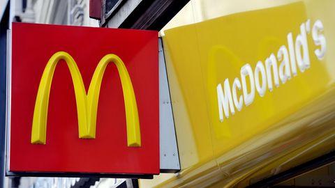 Der Grund sei nicht die Bezahlung gewesenIn Großbritannien haben alle Mitarbeiter einer McDonald's-Filiale während der Schicht gekündigt (Symbolbild)