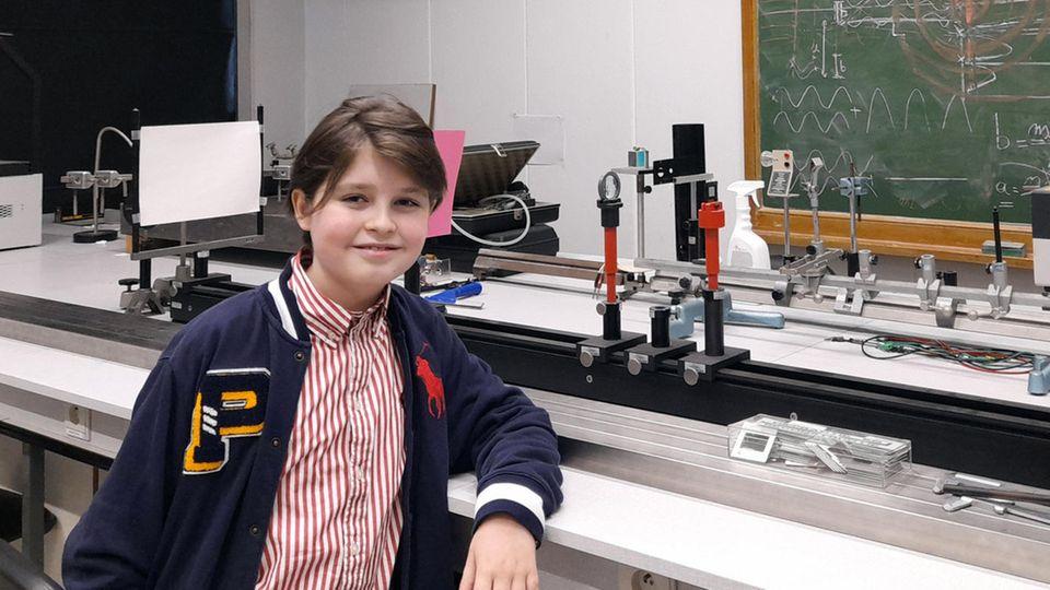 Wunderkind und Physiker Laurent