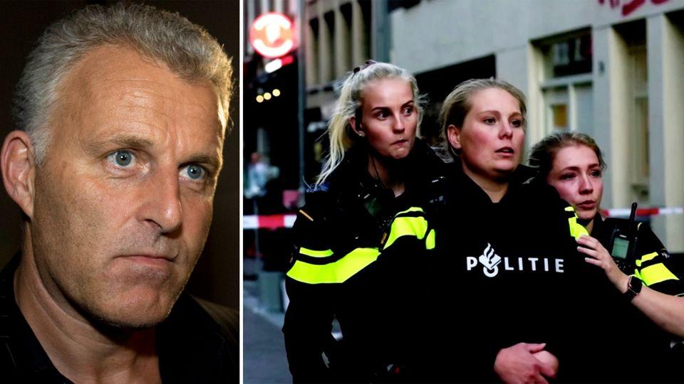 Amsterdam: Kriminalreporter Peter R. de Vries (links) wurde auf offener Straße in den Kopf geschossen.