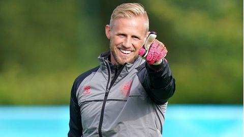 Dänemark-Keeper Kasper Schmeichel
