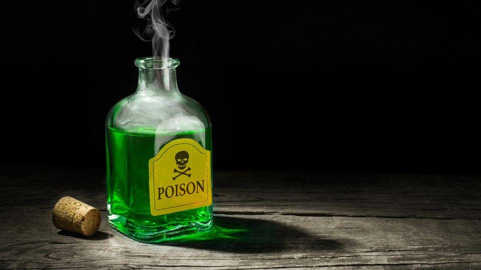 Giftflasche