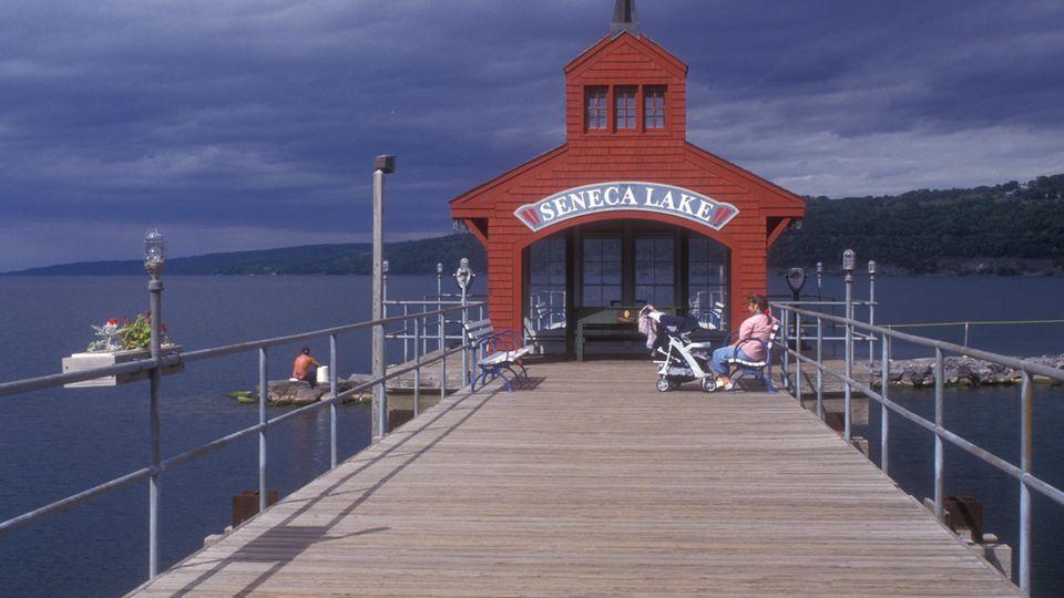 Die Anwohnerdes idyllischen Seneca Lakes lehnen das Bitcoin-Kraftwerk in ihrer Nachbarschaft ab.