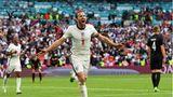 Englands Harry Kane bejubelt sein Tor zum 2:0 im Achtelfinale gegen Deutschland