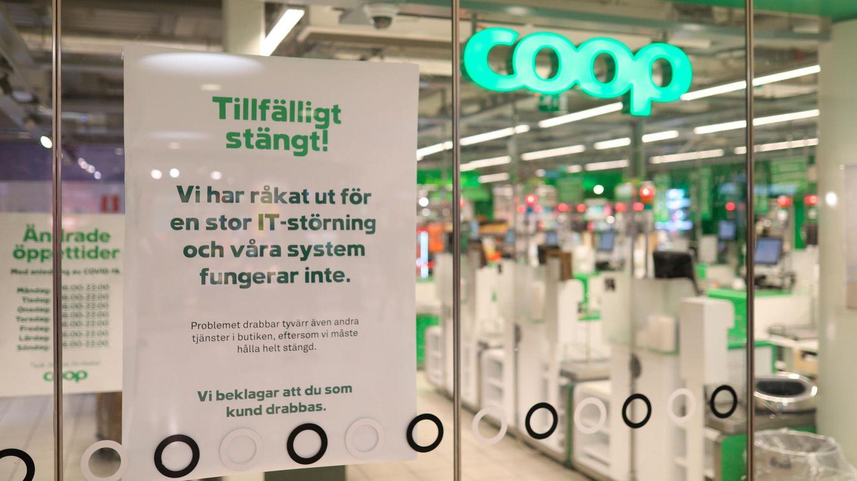Die schwedische Supermarktkette Coop gehört zu den Opfern der Cyber-Erpresser