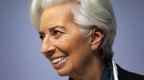 Christine Lagarde lächelt