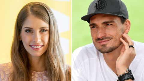 Trennungsgerüchte um Cathy und Mats Hummels: Cathy kontert geschickt.