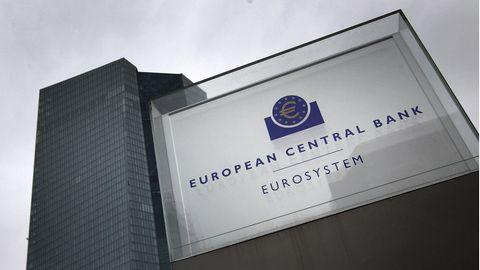 Das Hauptquartier der Europäischen Zentralbank (EZB) in Frankfurt am Main