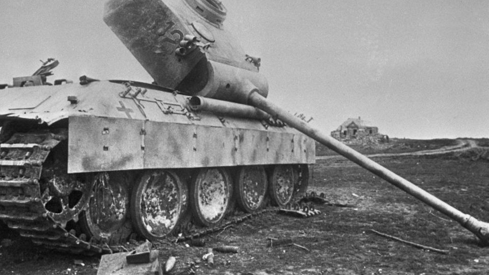 Die neuen Panther-Panzer litten unter zahlreichen Kinderkrankheiten.