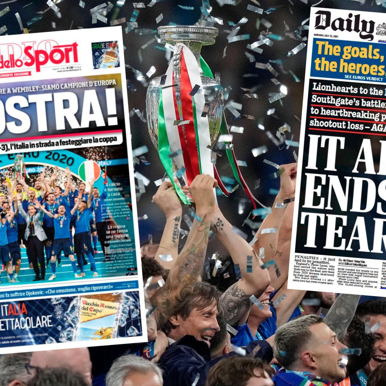 EM Finale 20 Pressestimmen aus England, Italien und Europa ...