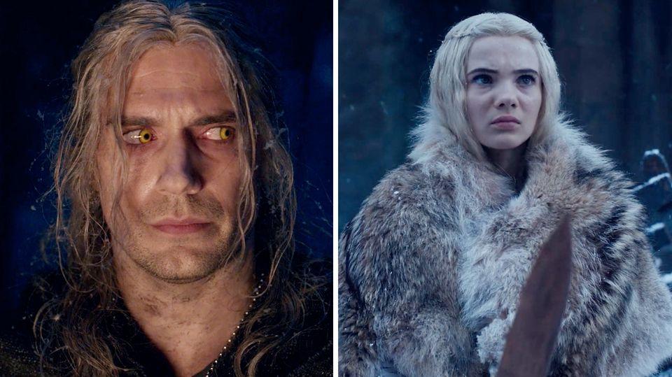 The Witcher: Sehen Sie zweite Staffel des Fantasy-Hits im Trailer
