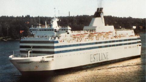 """Die Fähre """"Estonia"""" der Reederei Estline (undatiertes Archivfoto)"""