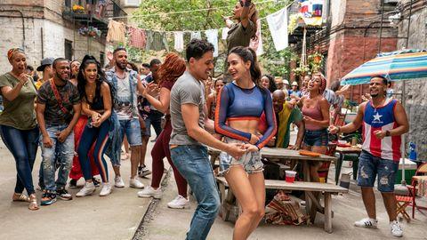 Pure Lebensfreude: Usnavi (Anthony Ramos) und Vanessa (Melissa Barrera)