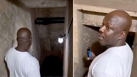 Geheime Höhle –TikTok-Nutzerin macht unglaubliche Entdeckung