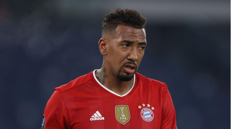 Ex-Nationalspieler JérômeBoateng im Trikot des FC Bayern München