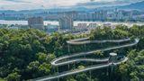 Fudao Skywalk in Fuzhou