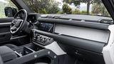 Haltegriffe reichlich im Land Rover Defender PHEV 2021