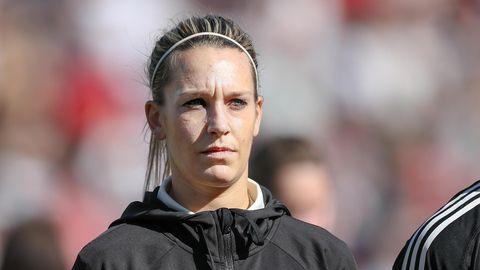 Die deutsche Fußball-Spielerin Lena Goeßling