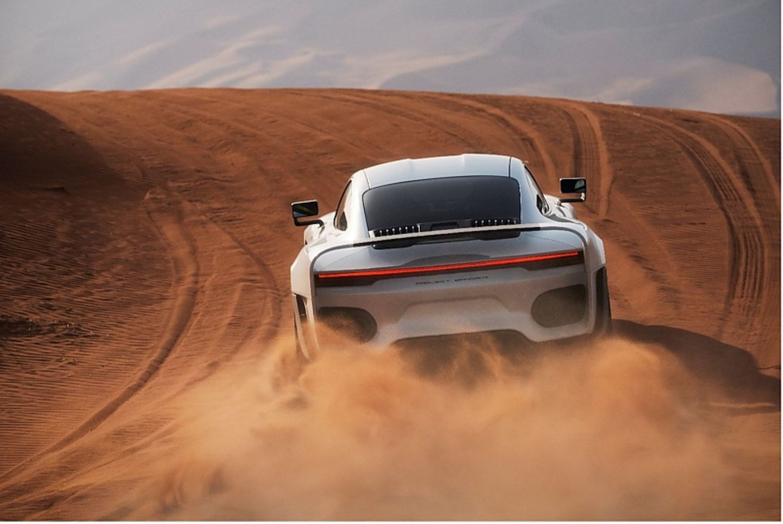 Die Tests finden arabischen Al Faya-Wüste statt