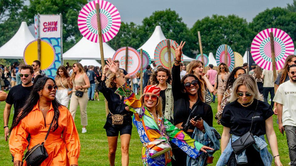 Festival in Amsterdam