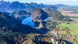 Ostallgäu mit Bergen und Seen