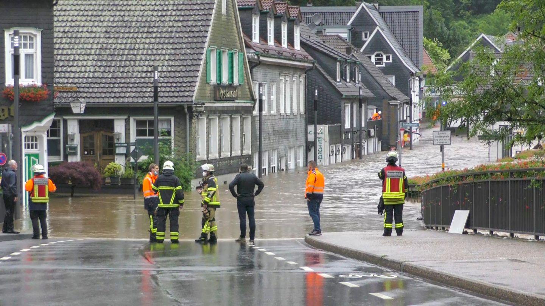 Überschwemmung Solingen
