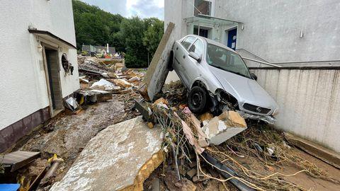 Malu Dreyer, Armin Laschet und Co.: Reaktionen aus der Politik zur Hochwasser-Lage