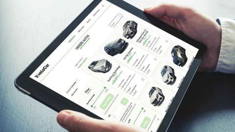 ViveLaCar funktioniert durchs Internet, die Autos stehen aber beim klassischen Händler.