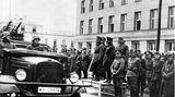 Im August 1941 besuchte Hitler Stadt und Festung.