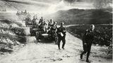 Auf strategischer Ebene konnten das Moskauer Oberkommando den deutschen Überfall zunächst nicht stoppen.