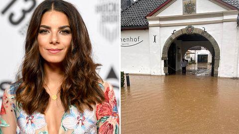 Schauspielerin Lilli Hollunder: Das Hotel ihrer Mutter im Bergischen Land ist überflutet