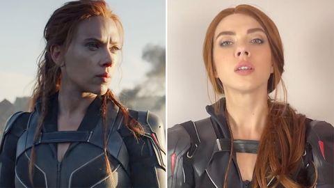 Scarlett Johansson –Doppelgängerin sieht aus wie Marvel-Star