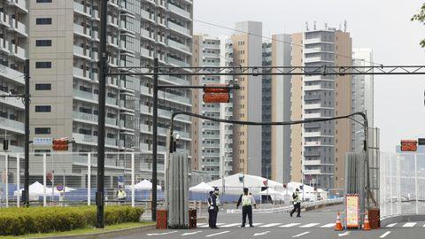 Olympisches Dorf Tokio