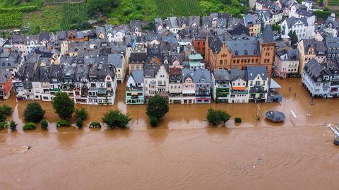 Zell Hochwasser