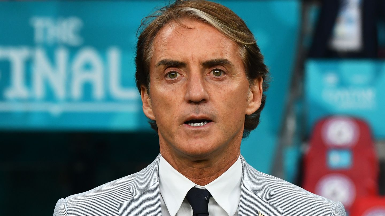 Roberto Mancini Italy England Euro