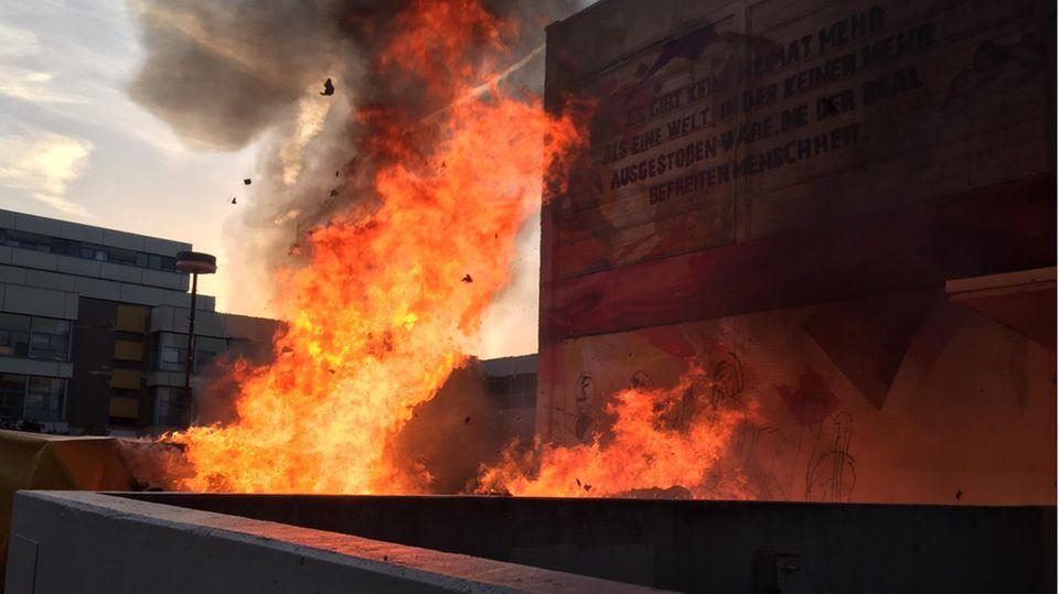 Frankfurt Feuer