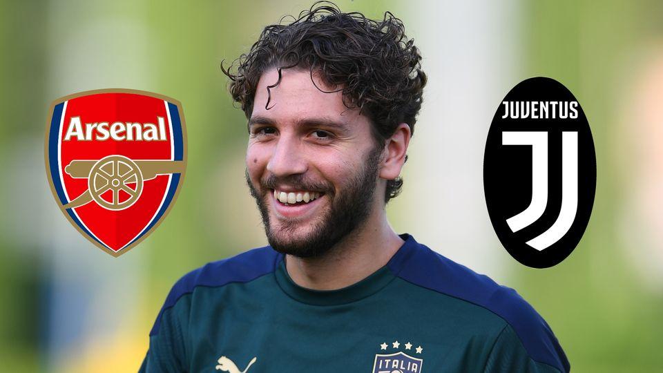 Manuel Locatelli, Arsenal & Juventus badges