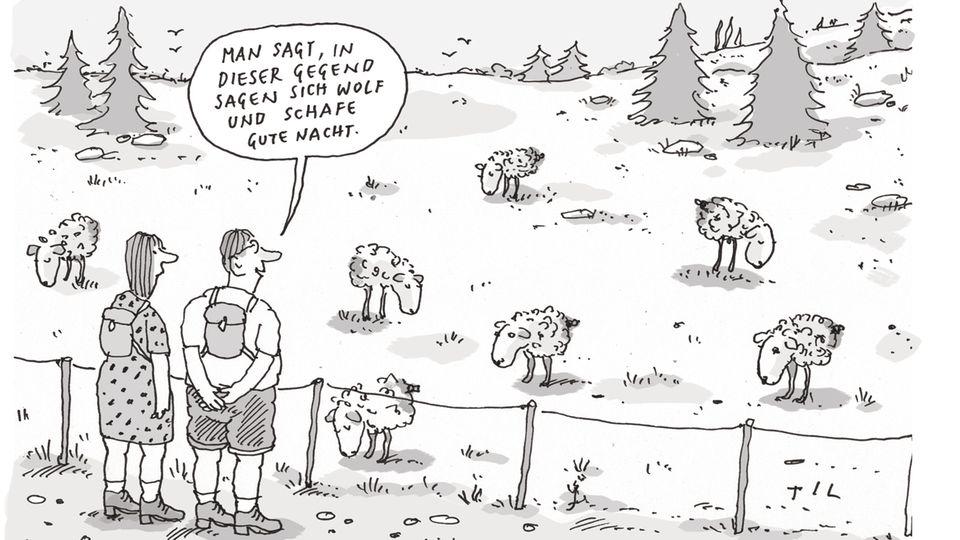 Til Mette: Cartoon der Woche