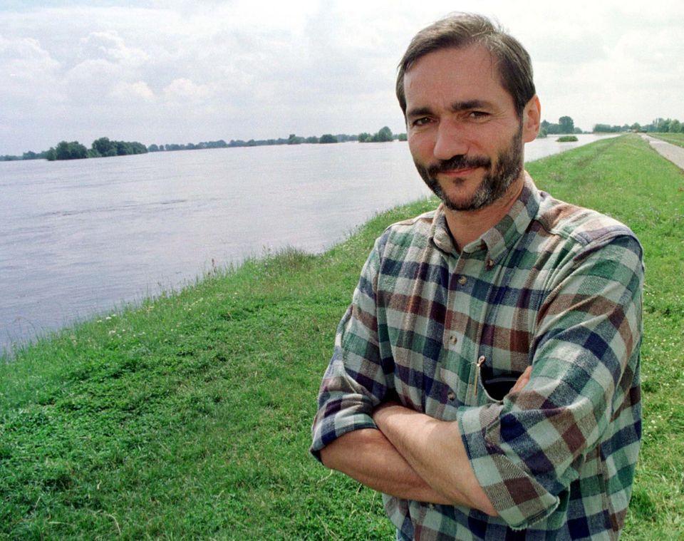 Der damalige brandenburgische Umweltminister Matthias Platzeck