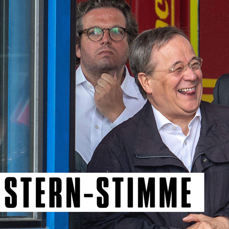 Micky Beisenherz über den lachenden Armin Laschet im ...