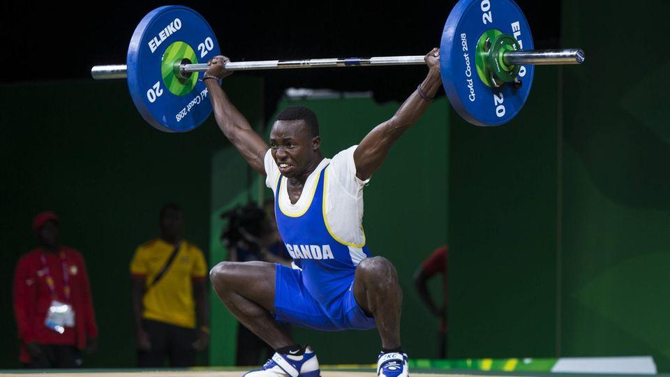 Julius Ssekitoleko aus Uganda.