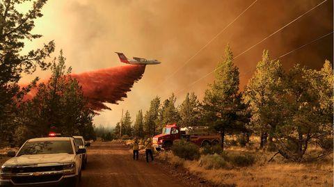 Feuer in Oregon