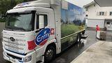 Hyundai Xcient Lastwagen Emmi in der Schweiz