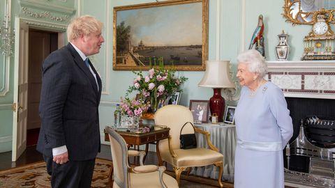 Boris Johnson und Queen Elizabeth II.