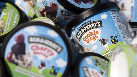 Eisbecher von Ben & Jerry's