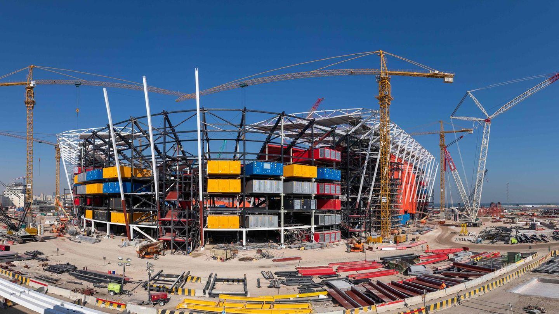Ras-Abu-Aboud-Stadion in Doha, Katar